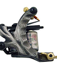 Wire Cutting Damascus Steel Tattoo Machine Gun Liner and Shader