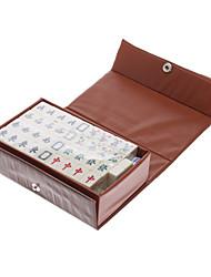 2x1.5cm portable pour les voyages Mahjong Divertissement