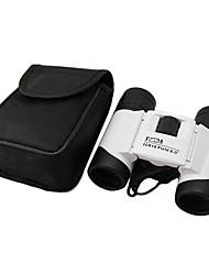 10 * 18 Multi-Coated Mini-Fernglas mit Tasche / Strap (weiß)