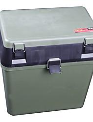 Hochleistungs-Fishing Tackle Box Seat Box (33 * 20 * 37cm)