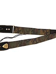 Soldado - (Camouflage) poliéster / algodão e tecido Correia Guitarra / Baixo