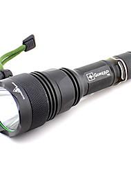 goread 900LM 5-Mode xml-t6 conduit focalisable éblouissement lampe de poche étanche d'aventure en plein air (sans batterie et chargeur) y6800101