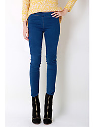 Women's Blue Jeans Pants , Casual