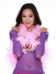 Performance Dancewear Feather Belly Dance Schal für Damen mehr Farben