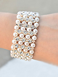 Femmes Bracelet Pearl Luxury Large