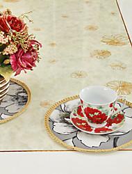 Ensemble De 6 Polyester impression multi-couleurs verres rattache Floral