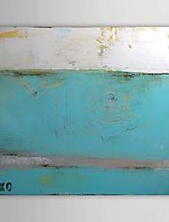 Ручная роспись Абстракция 1 панель Холст Hang-роспись маслом For Украшение дома