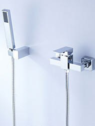 Tub Shower Faucet Contemporary style with Hand Shower
