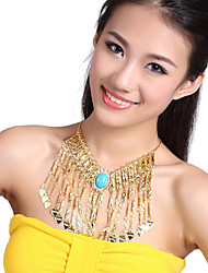 Performance Dancewear Tassels Design Belly Dance Necklace For Ladies