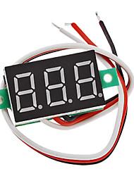 """V20D 0.36"""" LED 3-Line 3-Digital Direct-Current Voltmeter Meter Module (White + Green, DC 0~100V)"""