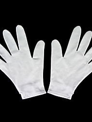 Gloves Inspired by D.Gray-man Allen Walker Anime Cosplay Accessories Gloves White Spandex Male