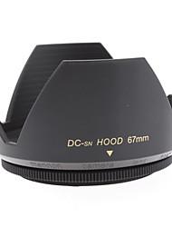 Mennon Lens Hood 67 milímetros para lentes de câmera Digital Lentes 16 milímetros Film +, + 28 milímetros
