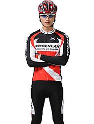 MYSENLAN PN Mesh + Flex материала с длинным рукавом быстрого высыхания Костюмы Велоспорт