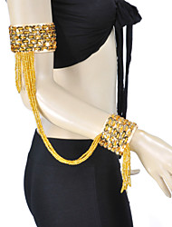 Performance Dancewear Polyester with Tassels Belly Dance Bracelets For Ladies More Colors