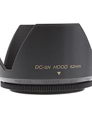 Mennon 62mm Parasol para objetivos de cámaras digitales Lentes 16mm +, 28mm Film +