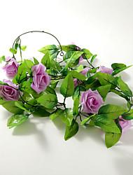 Wedding Décor 2m (6.5ft)Pretty Lalic Rose Vine Decoration