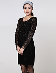 BLG Classic Long Sleeve Lace Dress