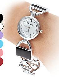 Mujeres aleación analógico reloj pulsera de cuarzo (colores surtidos)