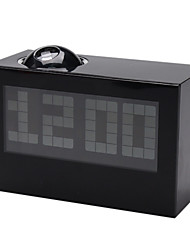цифровой будильник календарного времени проекторов (черный, 3xAAA)