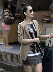 Women's Blazer , Casual Long Sleeve
