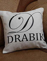 Gifts Bridesmaid Gift Personalized Initial And One Line Pillow Case (Pillow not included)