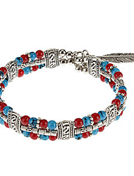Multicolor Flower Beads Bracelet Vent nationale