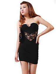 Women's Formal Sexy Dress,Solid Cotton / Polyester / Spandex
