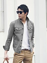 veste décontractée en coton d 'hommes