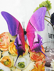 Wedding Décor Pretty Plastic Butterfly (Set Of 6)