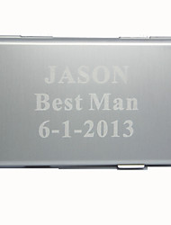 Personalized Simple Alloy Business Card Holder