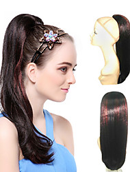 High Quality Synthetic Long Straight Ponytails