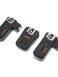 4-in-1 2,4 GHz Wireless Remote Flash Trigger mit Regenschirm-Halter für Nikon SLR Set