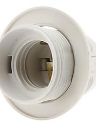 E27 ampoule Filet de vis Support de douille de la lampe (Blanc)