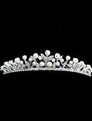Women's Rhinestone / Alloy Headpiece-Wedding Tiaras