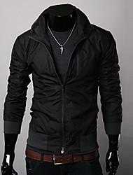 мужская позиция сплошной цвет куртки