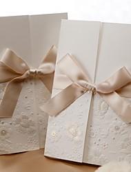 Номера для персонализированных Тройной сгиб Свадебные приглашения Пригласительные билеты-50 Шт./наборФормальный / Классический / С