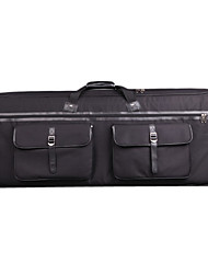 Inbox - (126017) Profession 3-pocket 61-Key Keyboard Bag with Invisible Strap(102*42*15cm)