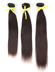 Brazilian Virgin Hair 18 Zoll Curly Natural Color Machine Made Tressen
