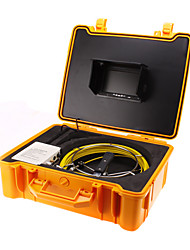 """20M (65ft) Sewer Pipe Waterproof Camera Pipeline Drain Inspection System 7""""Monitor"""