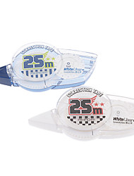 25mx5mm Zahnrad-Stil Correction Tape (Random Color)
