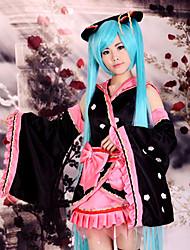 quimono traje cosplay miku sakura