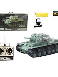 1:16 RC Tank Radio soviéticos KV-1 adicionales tanques blindados a distancia por radio control Juguetes Tanques