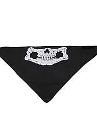 Black Triangle Polycarbonate Skeleton Fluorescence Mask