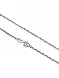Chic 925 Sterling Silver Seeds Chain Necklace