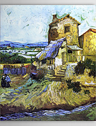 Famous Oil Painting An-old-mill by Van Gogh