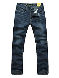Heren Wassen Lente-seizoen Straight Jeans