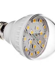 E27 2.5W 16x5050 SMD 200-240LM 2800-3200K Warm White Light LED Ball Bulb (220V)