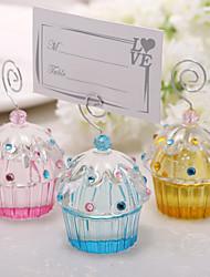 cartes d'endroit et porte belles détenteurs gâteau de cristaux de placecard (plus de couleurs)