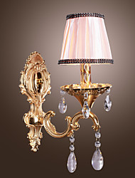 Crystal Wall Sconces,Traditional/Classic E12/E14 Metal
