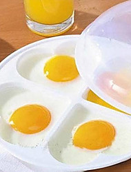 Heart Shaped Microwave Egg Tray Mold
